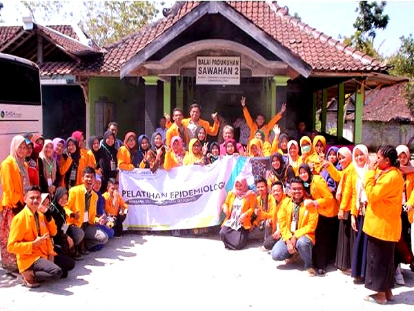 Praktikum Mahasiswa Minat Epidemiologi FKM UHO di Yogyakarta Tahun 2018