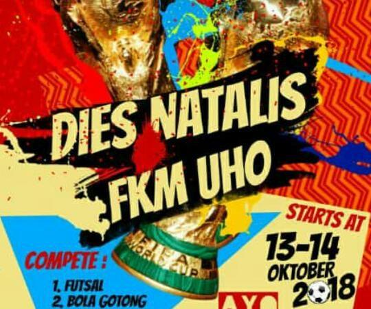 Peringatan Dies Natalis FKM UHO 2018