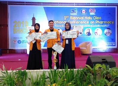 2 Gelar di Ajang Kompetisi Sains untuk Mahasiswa Indonesia